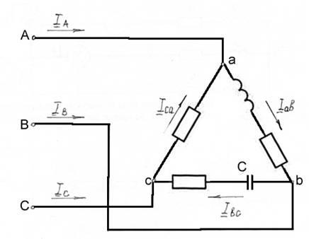 Для изучения законов постоянного тока предложена схема 953